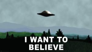 Ufo I want to believe