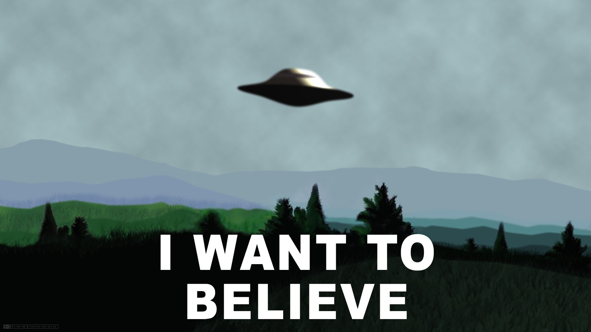 Ufo I want to believe