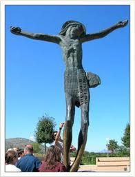 Statua Cristo Risorto Medjugorje
