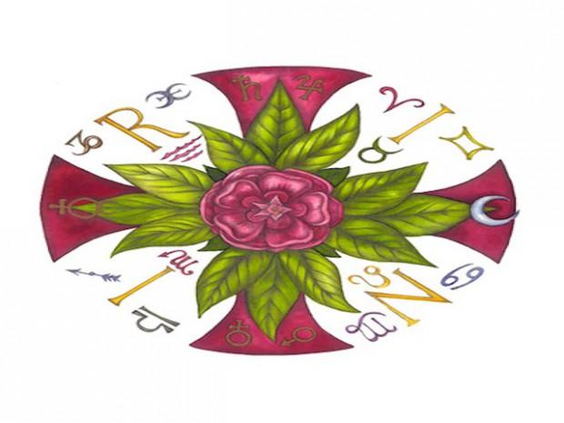 Simbolo Rosa Croce
