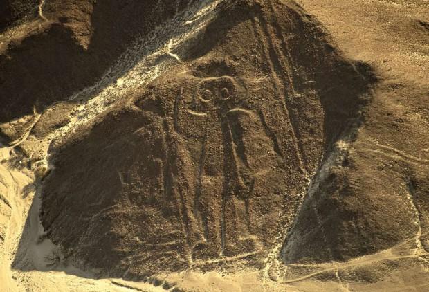 Linee di Nazca Astronauta