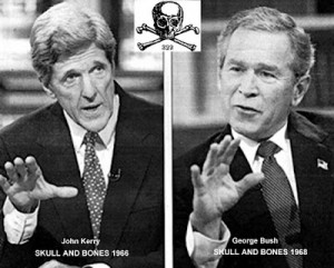 Kerry e Bush membri della setta Skull and Bones