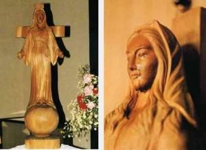 akita statua miracolosa