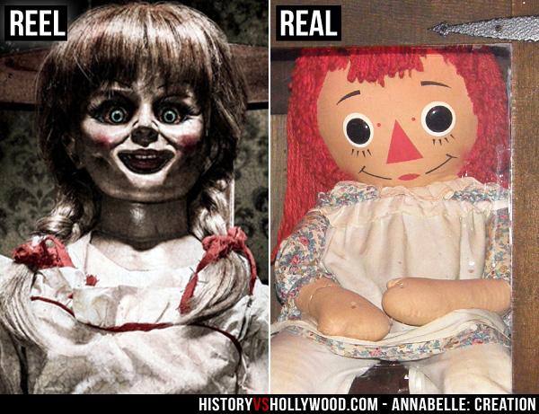 Annabelle Cinematografica e Reale