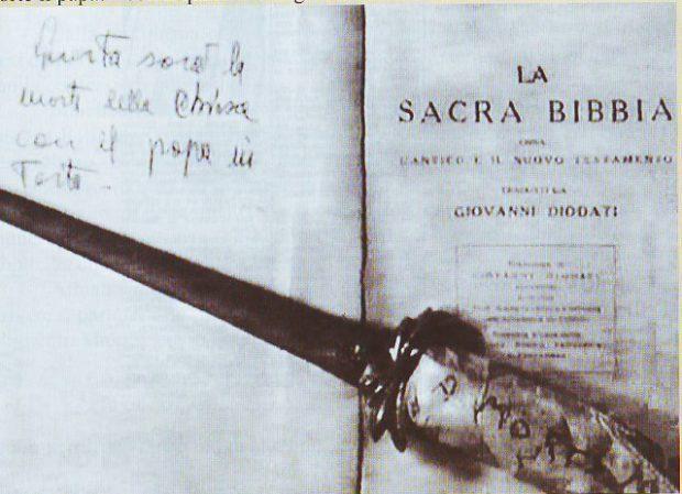 Pugnale Bruno Cornacchiola