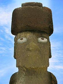 Moai di Ahu Tahai